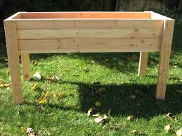Living Green Planters Portable Elevated Planter Box For