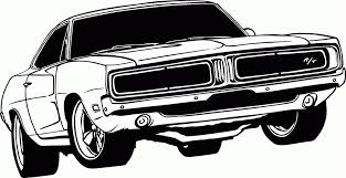 muscle car coloring pictures photo albums dodge charger