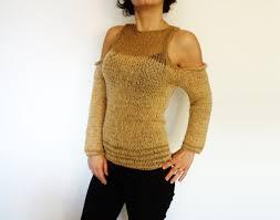 open shoulder sweater knitting pattern open shoulder sweater handknit open