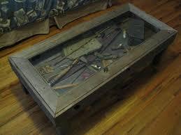 Shadow Box Coffee Table Furniture Coffee Table With Shadow Box Top Wood Living Room
