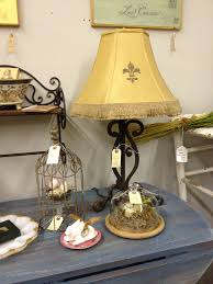 Fleur De Lis Home Decor And Accessories So Shabby Chic Great Iron Scroll Lamp With
