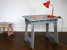 no tools assembly desk michael marriott work table slotted plywood kids work tables zip