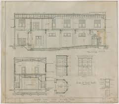 masonic lodge floor plan masonic temple ranger texas section and ticket booth plan the
