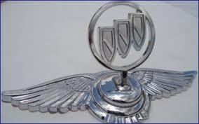 buick logo vog chrome bentley style ornament chrome