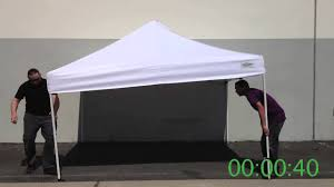 Ez Up Canopy Academy by How To Setup U0026 Put Away A Caravan Canopy In Less Than 2 Minutes