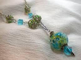 beaded pendant necklace designs images Make your own tangled wire beads video tutorial jpg