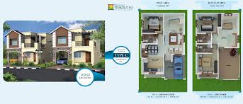 Duplex Layout by Villa In Sarjapur Residential Properties In Bangalore