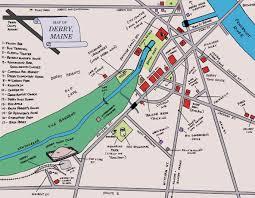 Maine Maps Derry Maine Map Stephenking