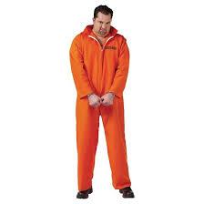 Prisoner Halloween Costume Women Men U0027s Jail Inmate Costume Xx Large Target