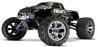 nitro monster trucks traxxas revo 3 3 rtr nitro monster truck dc charger bluetooth