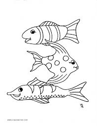 fish coloring page crayon action coloring pages