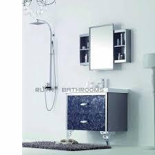 Stainless Steel Bathroom Vanity Cabinet Supply Stainless Steel Bathroom Vanity Manufacture Stainless
