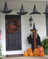 Halloween Outdoor Decorations Halloween Outdoor Decor Halloween Front Porch Decorations