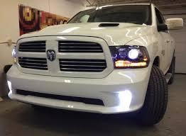 2008 dodge ram 1500 led fog lights amazon com 2013 2016 dodge ram 1500 2500 3500 hd heavy duty