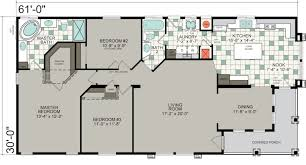 Mobile Home Floor Plans Double Wide by Mobile Home Floor Plans With Porch