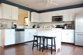 Blue And White Kitchen Strawberry Swing And Other Things Blue And White Kitchen Cabinet