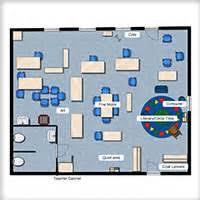 Kindergarten Floor Plan Examples Kindergarten Classroom Floor Plan Examples Pre K Classroom Floor