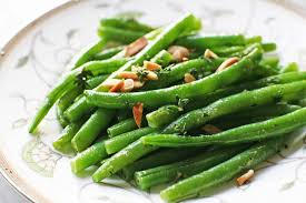 green beans with almonds and thyme recipe simplyrecipes