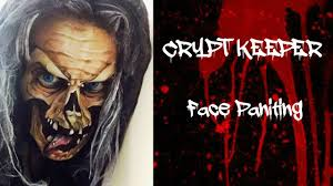 Crypt Keeper Halloween Costume Crypt Keeper Face Painting