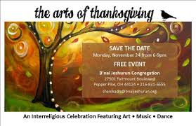 the arts of thanksgiving b nai jeshurun congregation