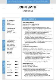 9 best executive resume template images on pinterest cover