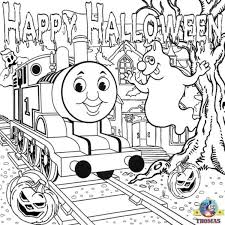 thomas train halloween worksheets kids train thomas