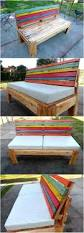 Patio Made Out Of Pallets by Bench Bench Made Of Pallets Storage Bench Made Out Of Pallets