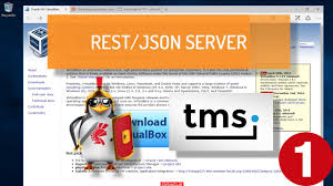 creating a rest server on apache linux using delphi and tms xdata