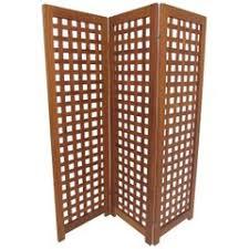 Folding Screens Room Dividers by Massive Danish Modern Caned Solid Staved Teak Frame Folding Screen