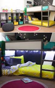 Bunk Beds Designs For Kids Rooms by 35 Cool Ikea Kura Beds Ideas For Your Kids U0027 Rooms Digsdigs