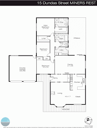 rest floor plan 15 dundas street miners rest vic 3352 sold realestateview