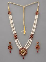 necklace pearl designs images Pearl necklace indian designs ideas images myshoplah jpg