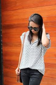 pleione blouse summer casual top the view from 5 ft 2