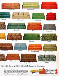 Hide A Bed Couch Hide A Bed Sofa Styles 1965 Click Americana