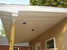 decoration terrific soffit and fascia with columns and exterior