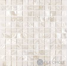 of pearl shell tile white 1 x 1 squares on a 12 x 12