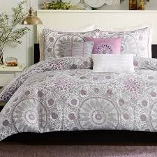 grey and purple duvet covers 8231