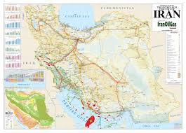 map or iran middle east iran petroleum maps iranoilgas network