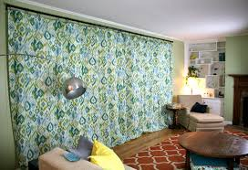 Large Pattern Curtains by Curtains For The Den Whipstitch