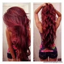 long dark hairstyles dip dye hair color amazing
