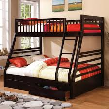 Plans For Twin Over Full Bunk Beds With Stairs by Bedroom Design Brown Twin Over Full Bunk Bed With Trundle And
