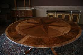 expandable dining table plans brilliant expanding round table plans buy plans mechanical lumber
