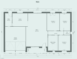 plan maison rdc 3 chambres plan maison 110m2 inspirational plan maison rdc 3 chambres