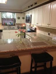 kitchen maid cabinet colors 17 best best kitchen cabinet color santa cecilia granite images on