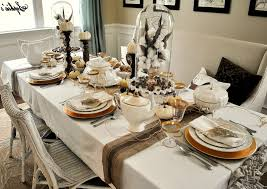 dining room table setting ideas 44 dining room table settings ideas kitchen table decorated