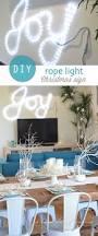 Christmas Rope Lights Bunnings by Diy Rope Light Joy Sign