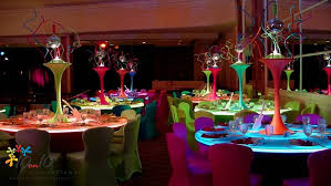 table decor ideas for functions disco theme party decorators in delhi by 10on10decorations