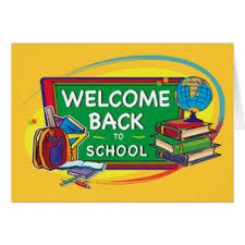 welcome back to school greeting cards zazzle