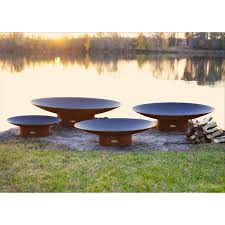 Wood Firepits Aritisan Mandarin Pit Wood Gas Fuel