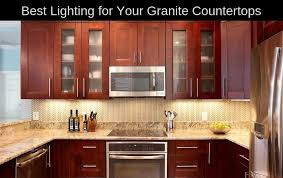 what is the best color for granite countertops best lighting for granite countertops lighting tutor